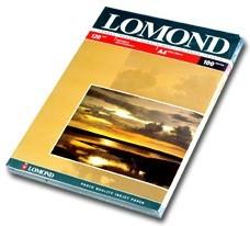 Фотобумага LOMOND 0102003, для струйной печати, A4, 120г/м2, 100 листов