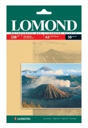Фотобумага Lomond 0102070 A5/230г/м2/50л./белый глянцевое для струйной печати
