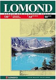 Фотобумага LOMOND 0102017, для струйной печати, A4, 130г/м2, 50 листов