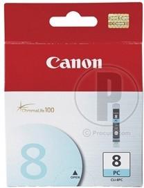 Картридж CANON CLI-8PC 0624B001, голубой
