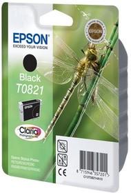 Картридж EPSON T0821 черный [c13t11214a10]
