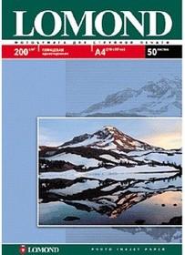 Фотобумага LOMOND 0102046, для струйной печати, A4, 200г/м2, 25 листов
