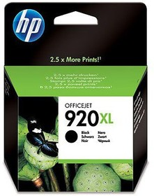 Картридж HP 920XL CD975AE, черный