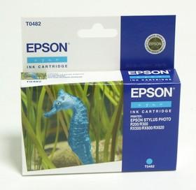 Картридж EPSON C13T048240 голубой [c13t04824010]