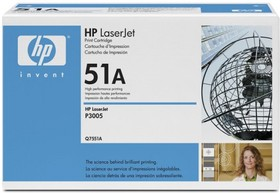 Картридж HP 51A Q7551A, черный