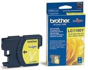 Картридж BROTHER LC1100Y желтый