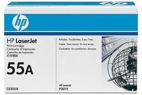 Картридж HP 55A CE255A, черный