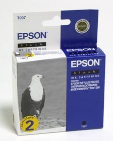Двойная упаковка картриджей EPSON C13T007402 черный [c13t00740210]