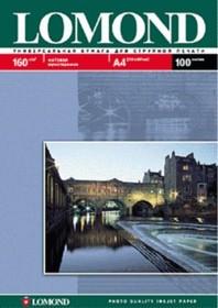 Фотобумага LOMOND 0102031, для струйной печати, A4, 160г/м2, 25 листов