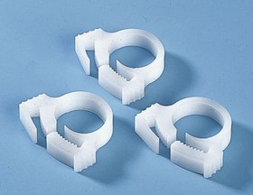 191-10029, WHITE CABLE SNAPPER CLIP,8.7-10MM DIA