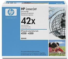 Двойная упаковка картриджей HP Q5942XD черный / черный