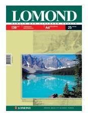 Фотобумага Lomond 0102041 A4/130г/м2/25л./белый глянцевое для струйной печати