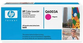 Картридж HP 124A Q6003A, пурпурный