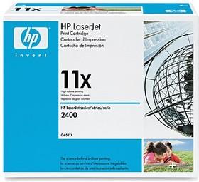 Картридж HP Q6511X черный