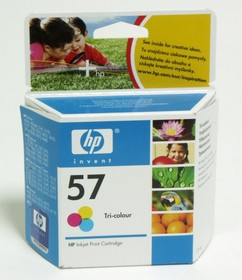 Картридж HP №57 многоцветный [c6657ae]