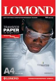 Термотрансфер LOMOND 0808415, для струйной печати, A4, 140г/м2, 50 листов