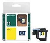 Печатающая головка HP 11 C4813A, желтый
