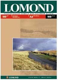Бумага Lomond 0102002 A4/100г/м2/100л./белый матовое/матовое для струйной печати