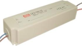 Фото 1/2 LPV-100-12, AC/DC LED, 12В,8.5А,102Вт,IP67 блок питания для светодиодного освещения