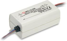 Фото 1/4 APC-12-350, AC/DC LED, 9-36В,0.35А,12.6Вт,IP42 блок питания для светодиодного освещения
