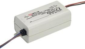 APC-16-350, AC/DC LED, 12-48В,0.35А,16.8Вт,IP30 блок питания для светодиодного освещения