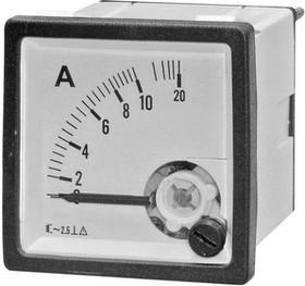 57861, Амперметр 10А/50Гц (48х48)