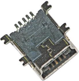 Фото 1/2 USB/M-1J (DS1104), Разъем miniUSB (м) на плату