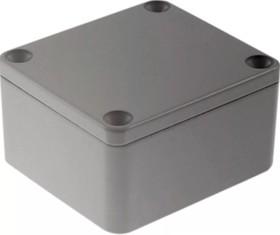 Фото 1/2 G104P, Корпус для РЭА 64х58х35 мм, металл, герметичный, серый