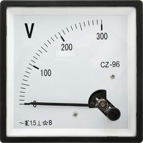 71081, Вольтметр 300В/50гц (96х96)