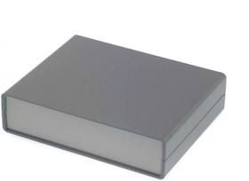 Фото 1/4 G706, Корпус для РЭА 140х110х35 мм, пластик, темно-серый, светло-серая панель