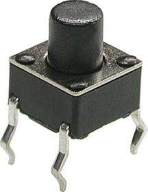 Фото 1/2 KLS7-TS6601-7.0-180 (TC-0104) (SWT6), Кнопка тактовая 6х6мм, h=7мм