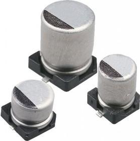 ECAP SMD, 470 мкФ, 16В, Конденсатор электролитический алюминиевый SMD