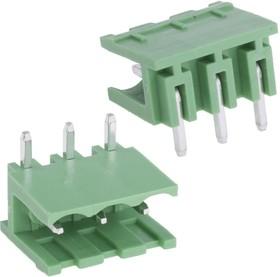 KLS2-EDR-5.00-03P-4 (2EDGR-5.0-03P-14), Клеммник, 3-контактный 5мм, угловой