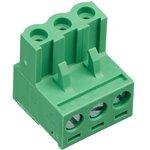 2EDGK-5.0-03P-14, Клеммник, 3-контактный 5мм, угловой