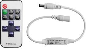 04-10, Контроллер для монохромной светодиодной ленты с RF пультом, 72Вт,6А,12В,IP33