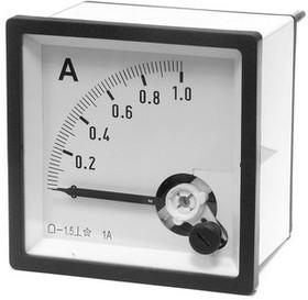 Амперметр 1А (72х72)