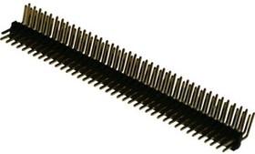 PLLD1.27-2x40R шаг 1.27 мм