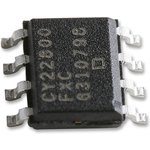 CY22800FXC, IC, CLOCK, PROGRAMMABLE, SMD, SOIC8