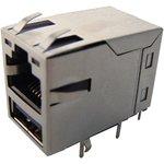 MC001519, Модульный разъем, с USB гнездом, угловой, светодиод, экранированный ...