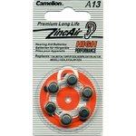 ZA13, Элемент питания воздушно-цинковый(для слуховых ...