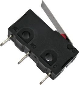 SM5-02N-25G, Микропереключатель с лапкой 5А 250VAC