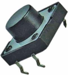 KAN1211-0801B, Кнопка тактовая 12x12x8мм