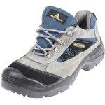 MAZANSPGB42, X-Large Industry Blue/Grey PUR Toe Men Safety Shoes, UK 8