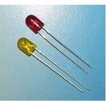 КИПД87Ж60/30-Ж светодиод желтый , 5.06мм, 100-200мКд, 24В
