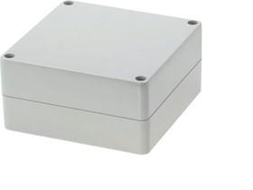 Фото 1/2 G278, Корпус для РЭА 120х120х60 мм, пластик, светло-серый