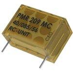 Фото 2/2 PMR209MC6100M022R30, Конденсатор Безопасности, 0.1 мкФ, X2, серия PMR209, 250 В, Metallized Paper