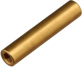 Фото 1/2 PCSS-25, Стойка для п/плат, круглая, латунь, М3, 25мм