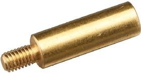 PCSN-15, Стойка для п/плат, круглая, латунь, М3, 15мм | купить в розницу и оптом