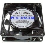 JA0825H2B0N-T, вентилятор 220В 80х80х25мм подшипник качения клеммы