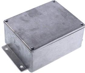 Фото 1/2 BS25MF, Корпус для РЭА 114x90x55мм, металл, герметичный, с крепежным фланцем